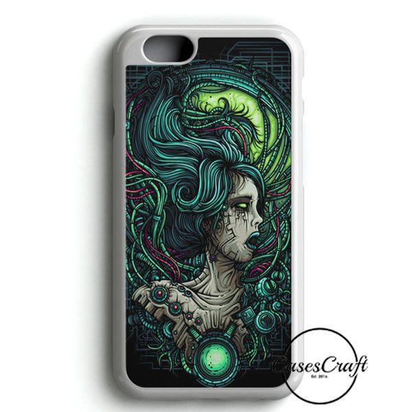 Cyborg Zombie Girl iPhone 6 Plus/6S PlusCase | casescraft