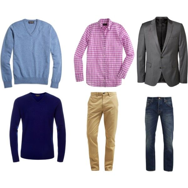 mens by nofailformula on Polyvore featuring mode, J.Crew, Brooks Brothers, Paul Smith, SELECTED, Burton and Nudie Jeans Co.
