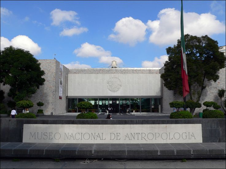 Spectacular Museum - very much worth the visit! Musee National Anthropologie-Entree - Museo Nacional de Antropología - Wikipedia, the free encyclopedia