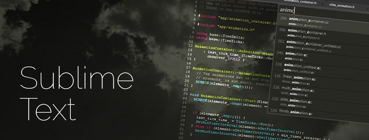 Win a copy of Sublime Text 3, the best text editor out there!