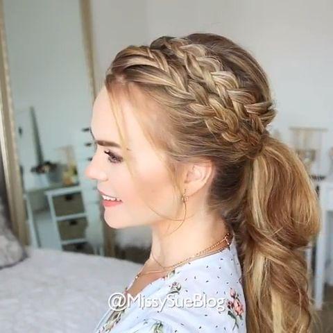 Long Hair Ponytail Hairstyles! 10+