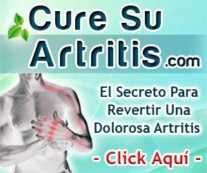 Cure su artritis de manera natural