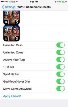 WWE Champions Cheats Hacks: All the latest and working updates provided by our c