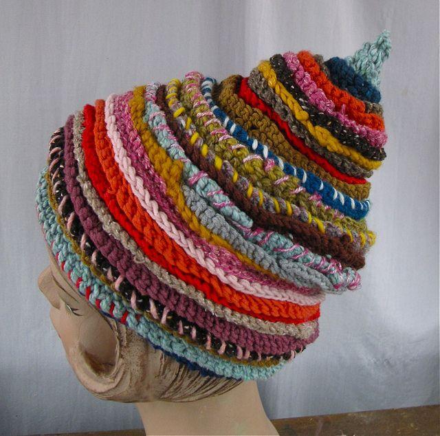 detail of crochet hat | Flickr - Photo Sharing!