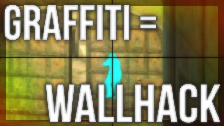 Graffiti Glitch - Spray Give Wallhack (Anomaly) #games #globaloffensive #CSGO #counterstrike #hltv #CS #steam #Valve #djswat #CS16