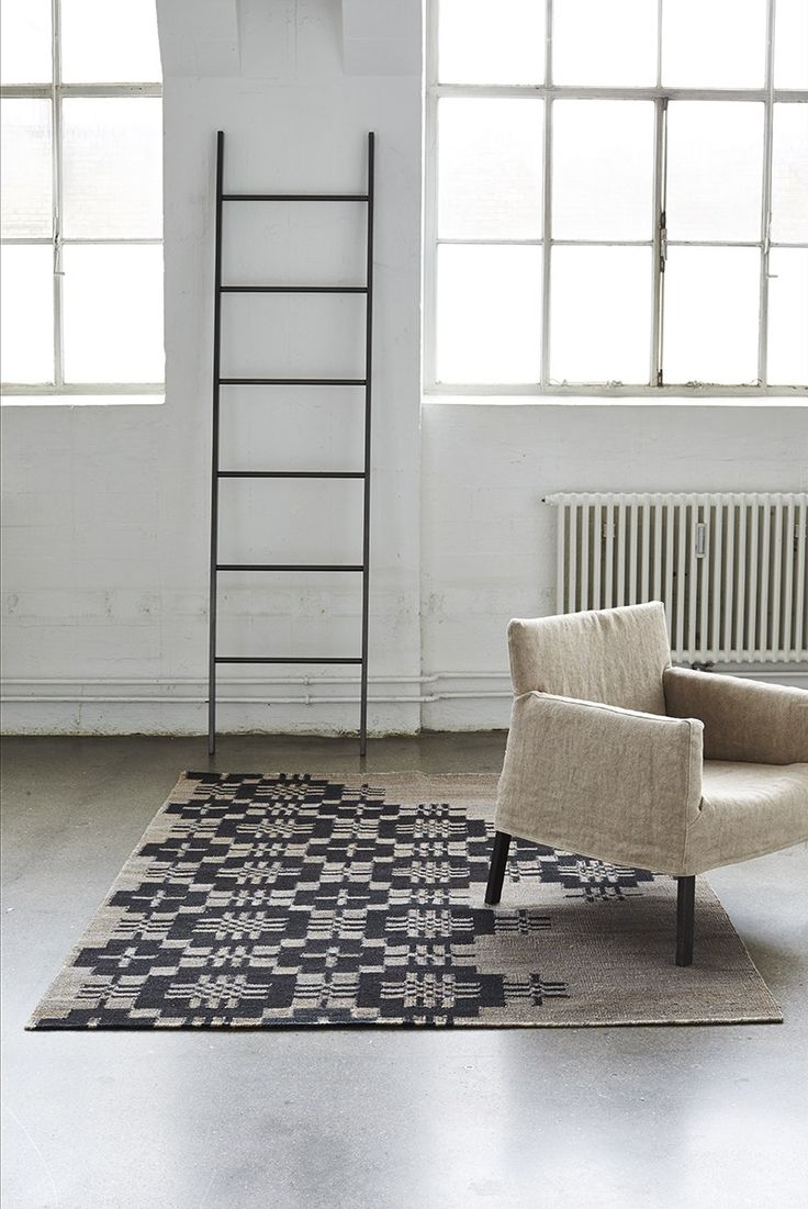 contemporary Scandinavian rugs from Woven for minimal interiors