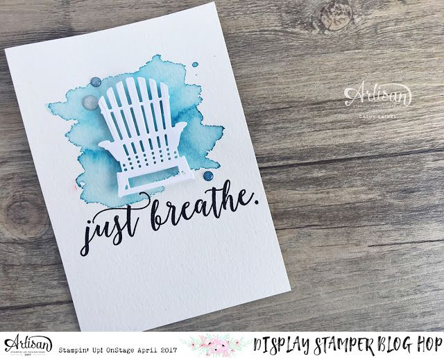 In The Cat Cave: Just Breathe. Colorful seasons, Display Stamping Blog Hop Day Five