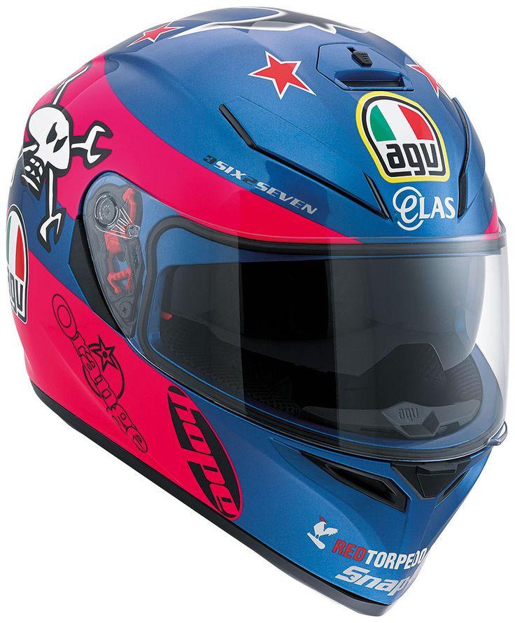 AGV K-3 SV Guy Martin Pink Replica - FC-Moto English