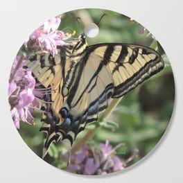 Western Tiger Swallowtail On Lemon Blossoms Cutting Board