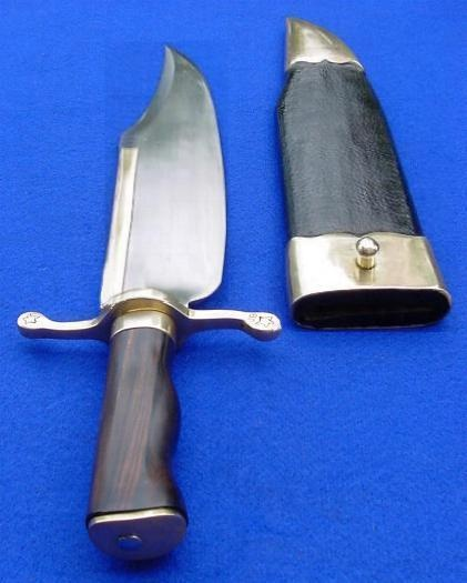 Texan bowie knife, though i question the use of the brass strip to the spine.