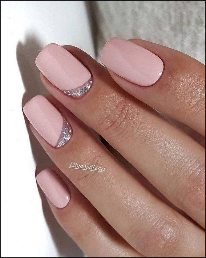 133+ Natural Summer Pink Nails für Short Square Nails Seite 3 … – Diy Nagel Design