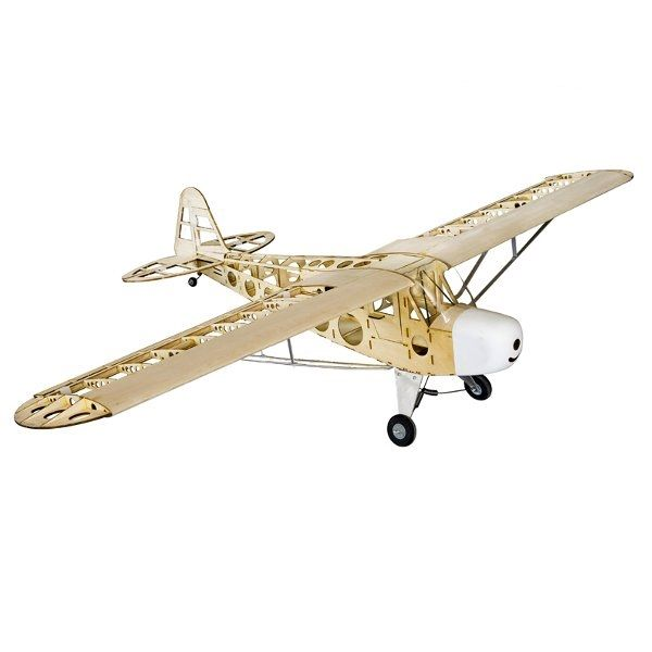 (154.99$)  Watch here  - Piper J-3 Cub 1800mm Wingspan Gas Electric Dual Power Balsa Wood RC Airplane KIT