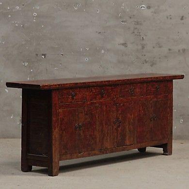 kokon kommode antik 6 t ren 4 sch be 222x45x96 furniture pinterest. Black Bedroom Furniture Sets. Home Design Ideas