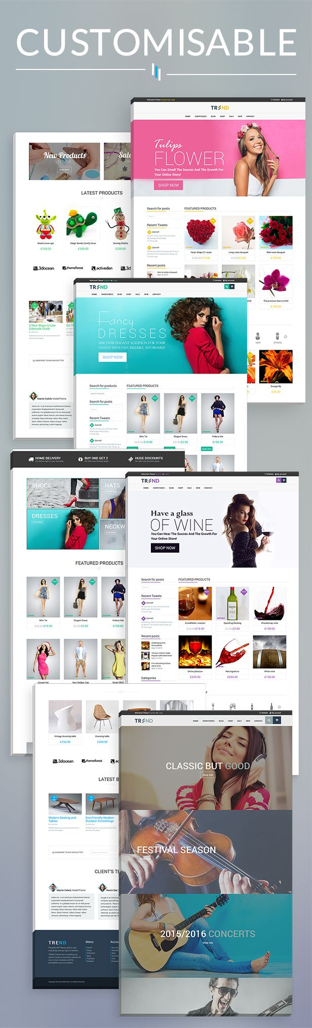 Trend - Multipurpose / Fashion / Restaurant / Construction / Modern Shop WooCommerce WordPress Theme by modeltheme