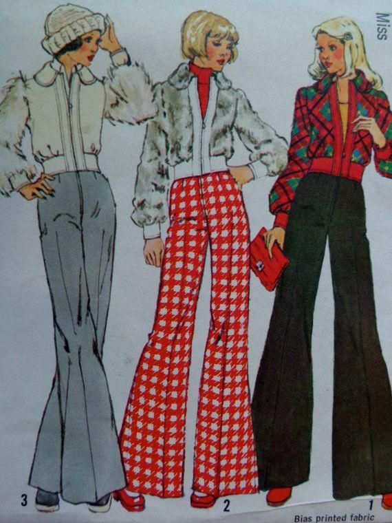 Les 25 meilleures id es de la cat gorie pantalon femme taille haute sur pinterest taille haute - Mode annee 70 femme ...