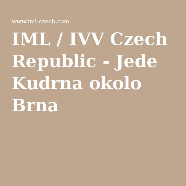 IML / IVV Czech Republic - Jede Kudrna okolo Brna
