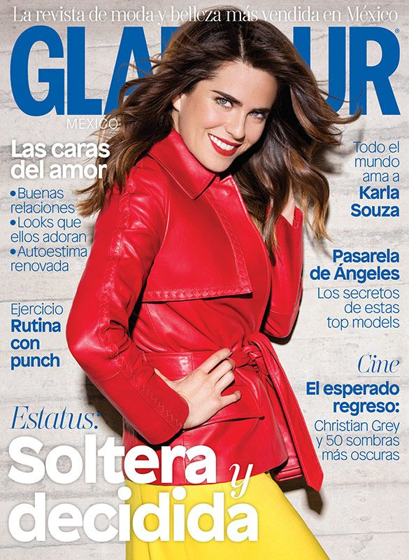 She's got it! Karla Souza es nuestra portada de febrero. Corre por tu revista y descubre cómo ser soltera y fabulosa.