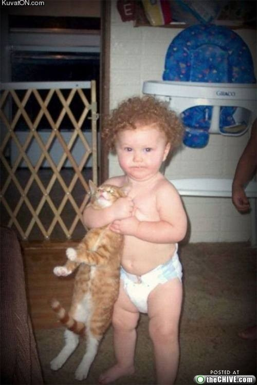 i wouldn't mess with this kid either!