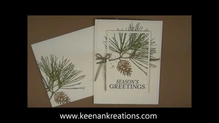 http://www.keenankreations.com/2014/09/clean-simple-greeting.html A quick and easy Christmas card using a fun double layer stamping technique with the Orname...