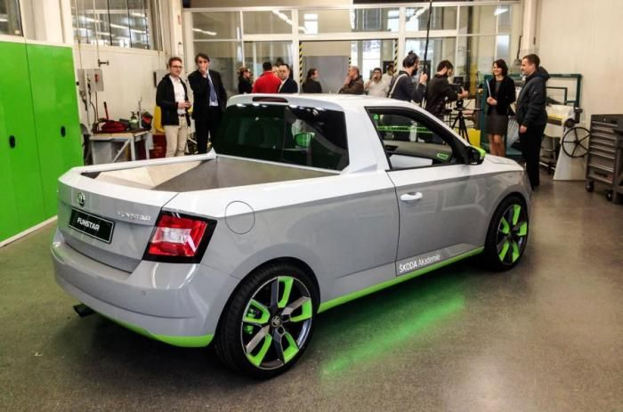 Lastcarnews: Skoda FUNstar is a Fabia pickup concept heading to...
