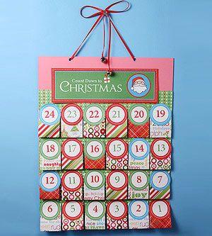 Countdown to Christmas: Best Advent Calendars: Printable Advent Calendar (via Parents.com)