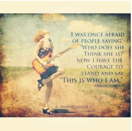 This is who I am | Quotes | Pinterest