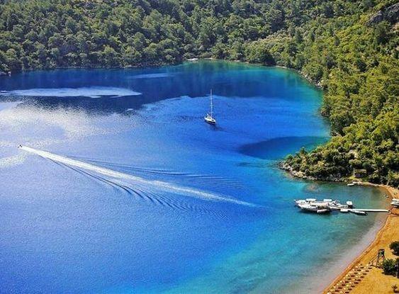 """Turquoise Coasts on Twitter: """"Sarsala bay #Dalaman #Muğla https://t.co/EFUJskCSpc"""""""