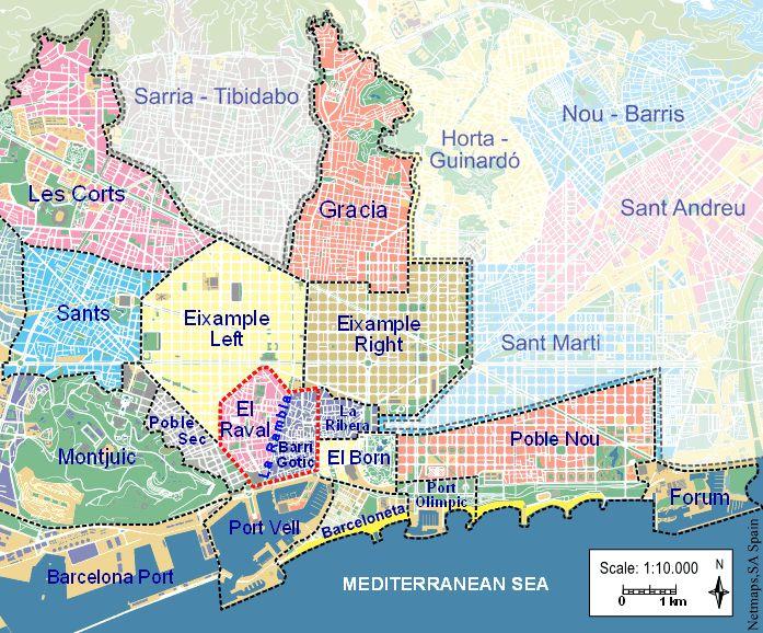 Map of Barcelona neighborhoods http://www.barcelona-tourist-guide.com/en/areas/barcelona-barrios-guide.html