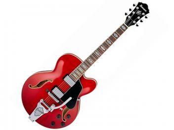 Guitarra Semi - Acústica Ibanez AFS 75 T - Vermelho