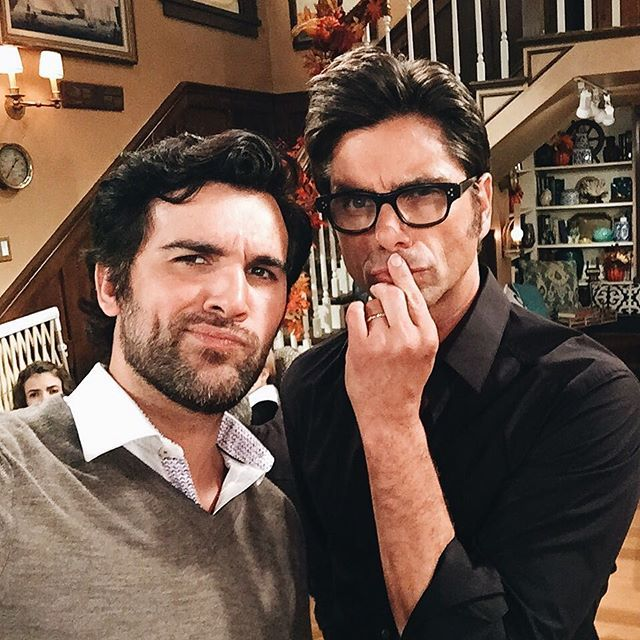 20 Times Fuller House's Juan Pablo Di Pace's Instagram Was Too Hot to Handle When He Posed With John Stamos on Set