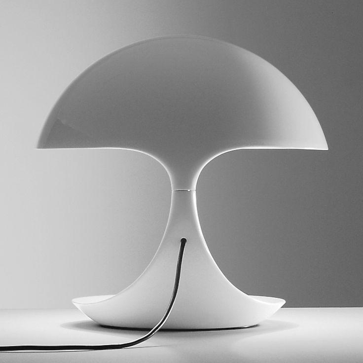 Lampada da tavolo girevole orientabile COBRA by Martinelli Luce design Elio Martinelli