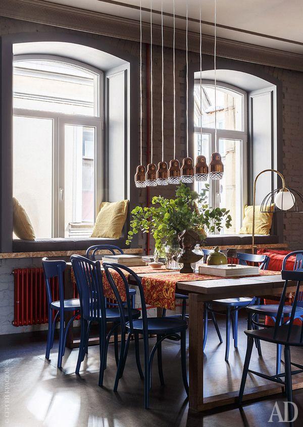 Квартира в Санкт-Петербурге – яркие интерьеры, фото | AD Magazine