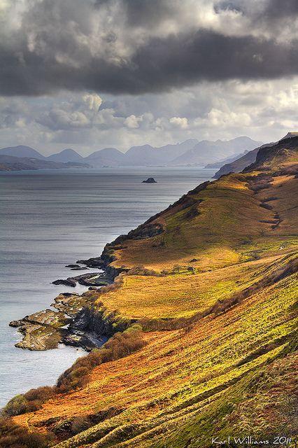WINTERBERRY — Trotternish Light, Isle of Skye, Scotland….
