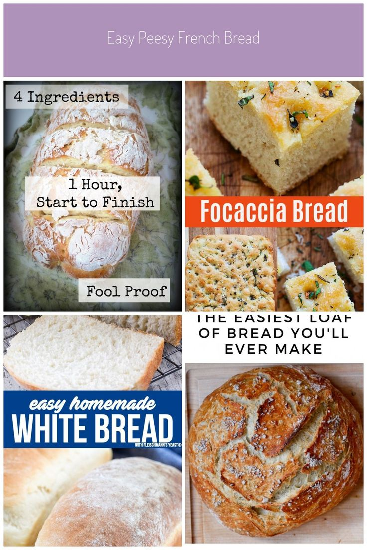 Foodie Fridays: Easy Peesy French Bread Four Ingredients ...