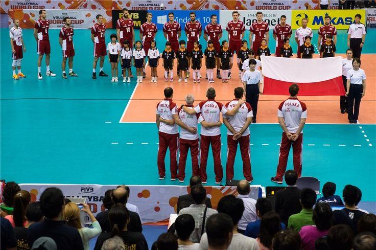 Reprezentacja Polski w Piłce Siatkowej przed meczem z Iranem (3:2) - prawdziwy team spirit!  Puchar Świata w Piłce Siatkowej Mężczyzn 2015