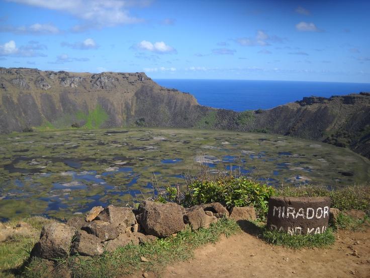 Rano Kau - Rapa Nui