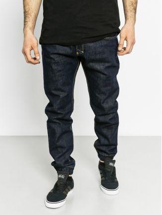 Kalhoty MassDnm Signature Denim Jogger Sneaker Fit (dark navy)