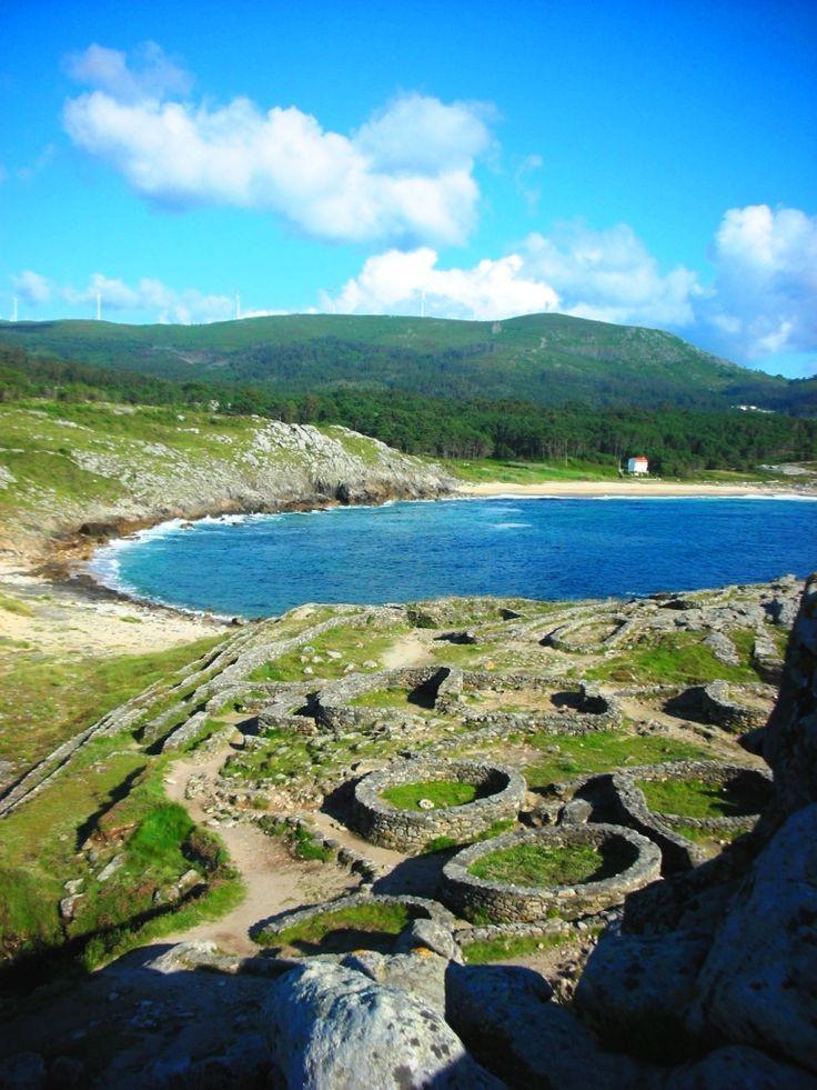 Celtic Castros en Boroña Galicia España