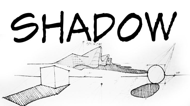 How To Draw Perspective Shadow - Architecture Daily Sketches