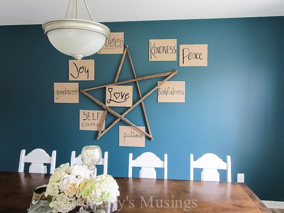 accent wall paint decor transforming, dining room ideas, home decor, painting, wall decor