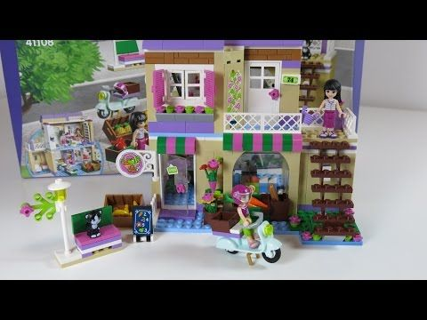DIY Building Lego Friends Shop from Scratch with my Daughter