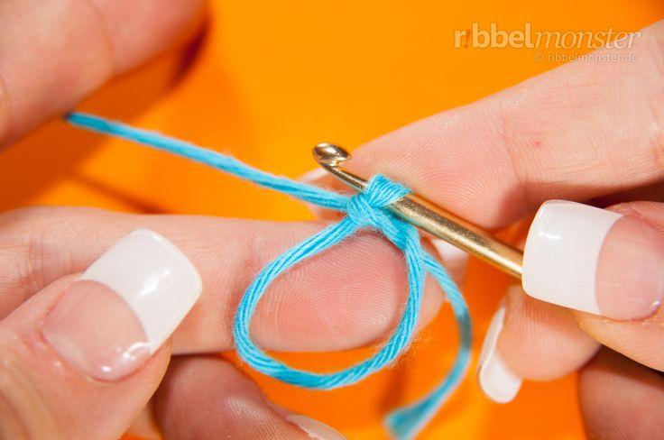 Fadenring häkeln, magischer Ring, flexibler Ring