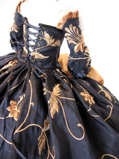 Golden Willow - French Rococo Court Gown - SALE