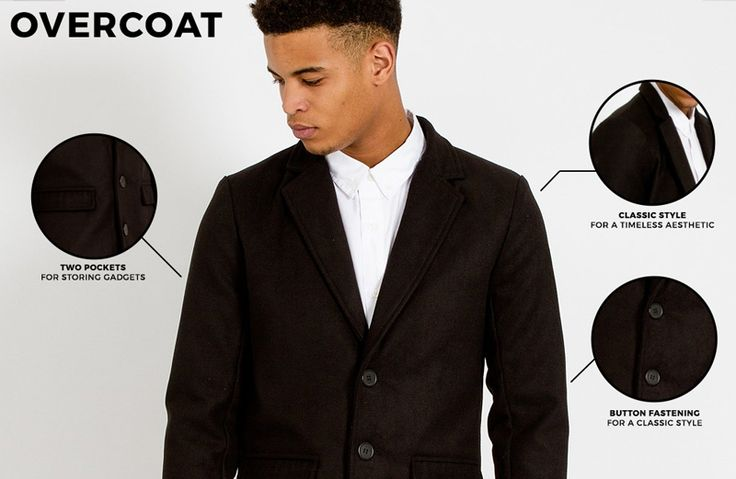 The Overcoat for Men   Shop now   The Idle Man   #StyleMadeEasy