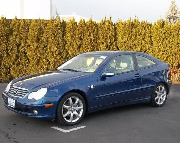 2004 MERCEDES KOMPRESSOR C220 COUPE
