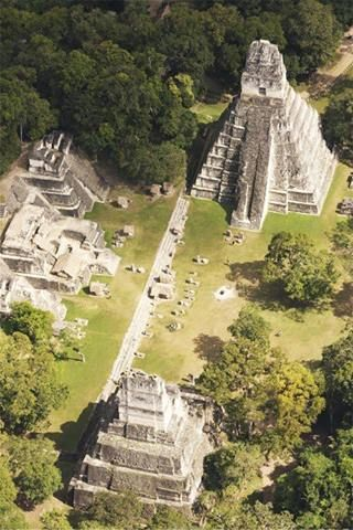 Ancient Ruins at Tikal, Guatemala