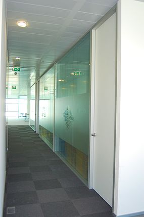 Samsung Office Partitions - Glass Acoustic