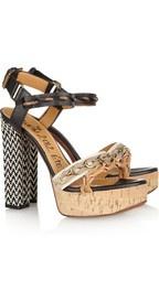 Lanvin  Leather and raffia sandalsRaffia Sandals, Fashion Feet, Fashion Shoes, Dreams, Style, Lanvin Sandals, Lanvin Leather, Heels, Girls Shoes