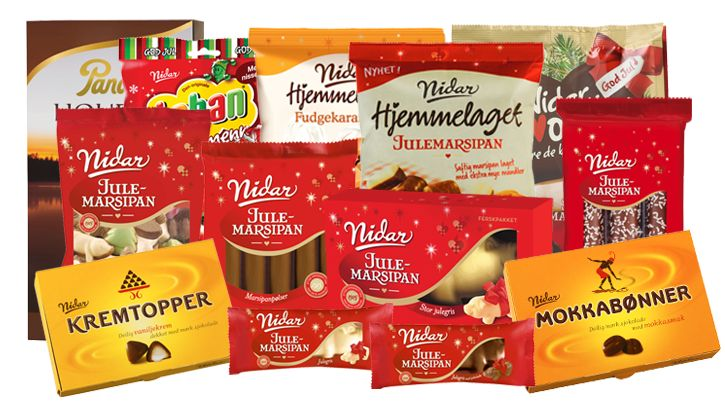 Nidar lager mange tradisjonsrike godterier til jul.