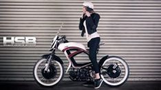 Tomas Bubilek Hybrid electric bicycle design